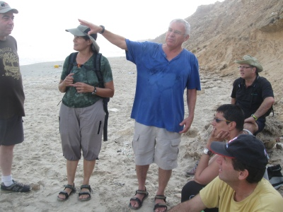 Amos, whose roots are in Kibbutz Gaash, tells us the story behind the remains of the shipwrecked boat just off the shore.