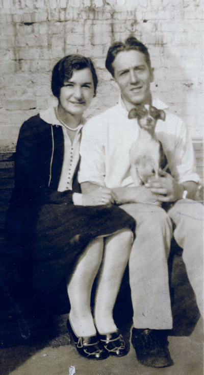 Ruth Radman and Leonard Meyer, 1926 (Engaged)