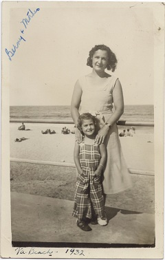 Bernice and Ruth Meyer 1932